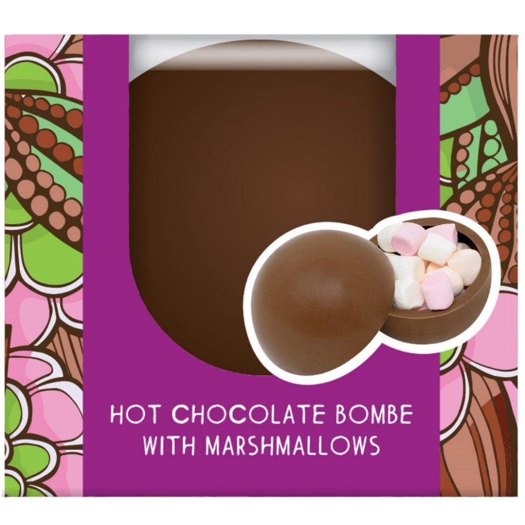 Cocoba milk hot chocolate bombe