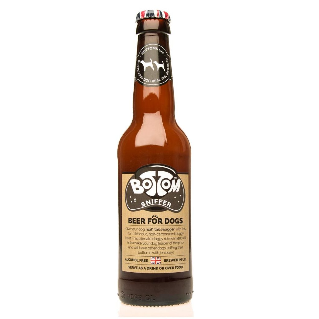 Woof & Brew Bottom Sniffer Beer for dogs