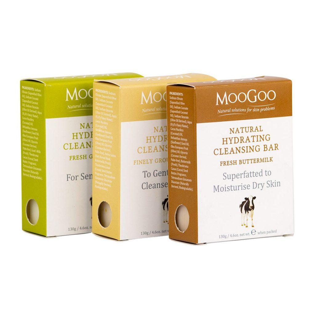 Moogoo cleaning bar - goats milk