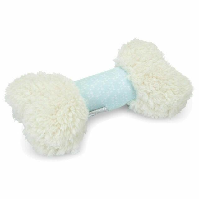 Beeztees puppy fun bone white plush