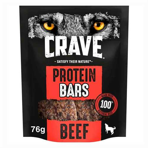 Crave protien bar with beef - 76g