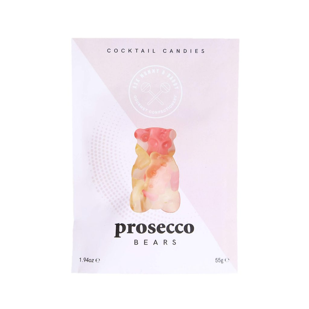 Ask Mummy & Daddy Prosecco Bears 55g