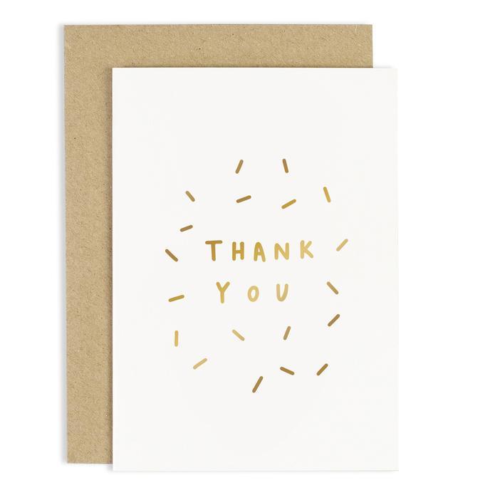 Thank You Sparkle Card