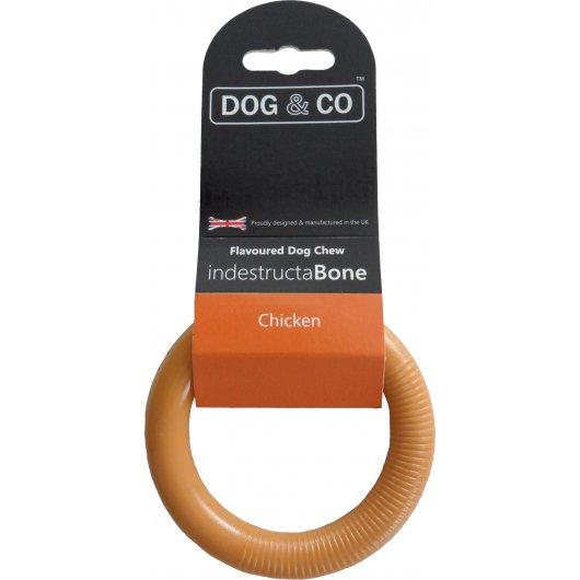 Dog & Co Dental Chew Sml Ring Chicken