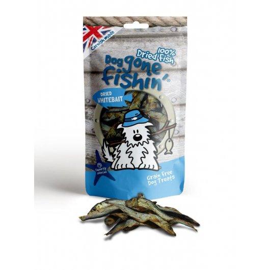 Dogs Gone Fishin' Dried Whitebait - 85g