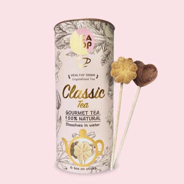 Classic Blends Tea-Pop, 3 Classic blends, Dissolves in Water