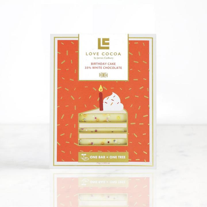 Birthday Cake 35% | White Chocolate Bar