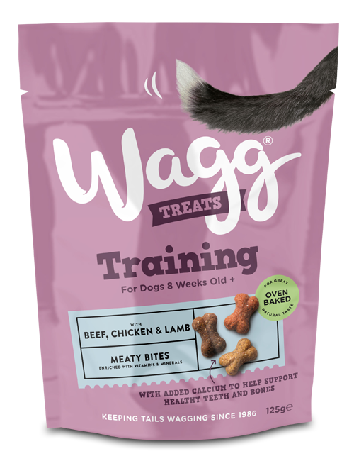 Wagg Training Treats with Beef, Chicken and Lamb