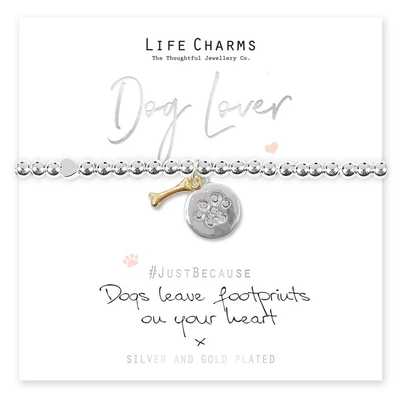 Dog Lover Silver bracelet