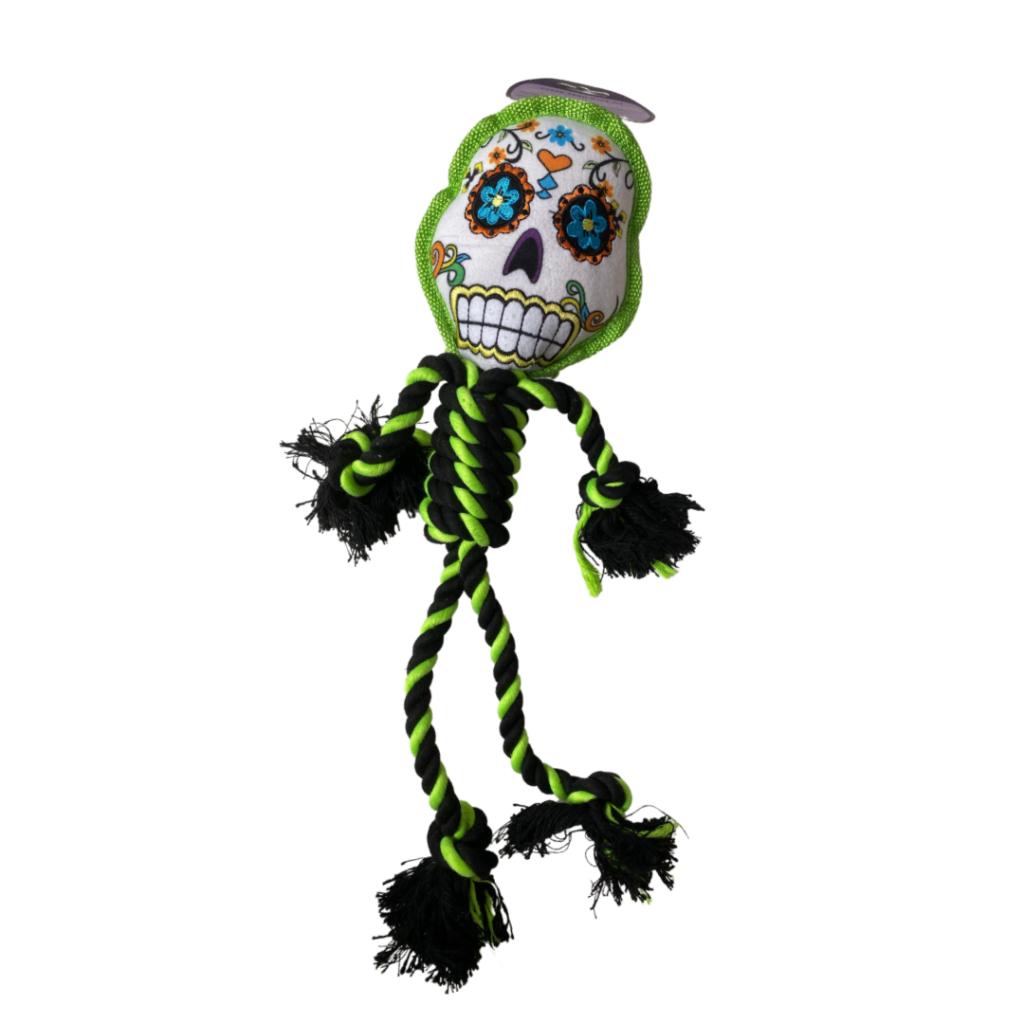 Sugar Skull rope and canvas